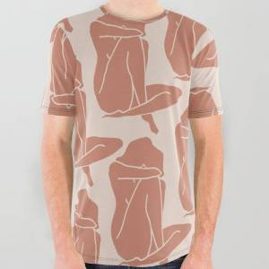 Society6 Collage Cut-out I All Over Graphic Tee by Work By Vera - Medium