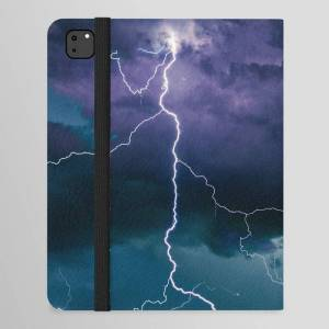 "Society6 Lightning Strikes Ipad Folio Case by Staywild - iPad Pro 12.9"" Folio"