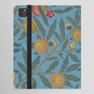 "Society6 William Morris Fruit And Pomegranate Vintage Print Ipad Folio Case by Art Culture - iPad Pro 12.9"" Folio"