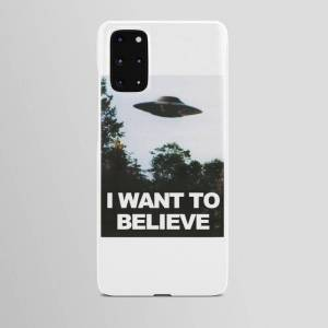 Society6 Samsung Galaxy S20 Plus - Slim Case   I Want To Believe Android Cases by Pink Lemonade