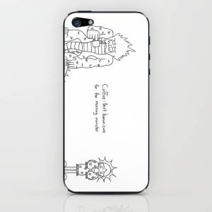 Society6 Coffee Monster iPhone & iPod Skin by maddesthatter