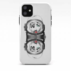 Society6 Dadaasetti Mon Amour Iphone Case by Luscious Apparatus - iPhone 11 - Tough Case