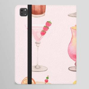 "Society6 Summer Cocktails 12 Ipad Folio Case by Flow Line - iPad Pro 11.0"" Folio"