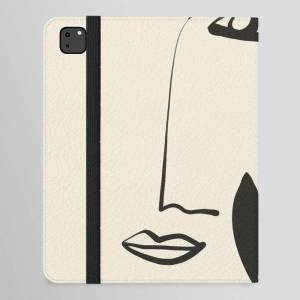 "Society6 Abstract Face 7a Ipad Folio Case by Thingdesign - iPad Pro 12.9"" Folio"