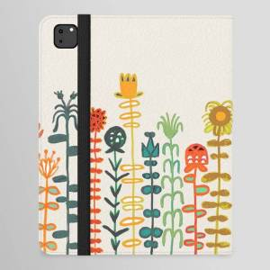 "Society6 Happy Garden Ipad Folio Case by Picomodi - iPad Pro 12.9"" Folio"