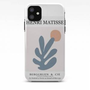 Society6 Abstract Matisse Cut Out Art, Abstract Matisse Leaf Wall Art Iphone Case by Mini Mons - iPhone 11 - Tough Case