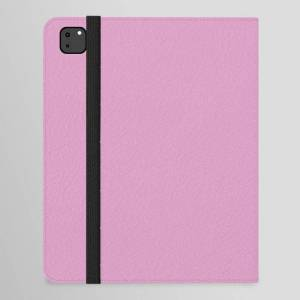 """Society6 Solid Color Dark Pastel Pink Pairs To Pantone 15-2913 Lilac Chiffon Ipad Folio Case by Simply Solids - Solid Colors For Those T - iPad Pro 12.9"""" Folio"""