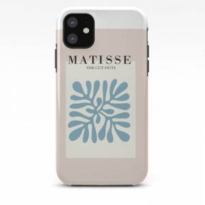 Society6 Henri Matisse Abstract Cut Out Flower Lavender Minimal Contemporary Print Iphone Case by Mini Mons - iPhone 11 - Tough Case