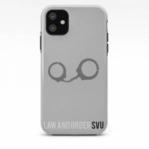 Society6 Law And Order Svu - Minimalist Iphone Case by Marisa Passos - iPhone 11 - Tough Case
