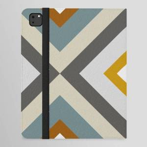 "Society6 Mid West Geometric 04 Ipad Folio Case by The Old Art Studio - iPad Pro 12.9"" Folio"