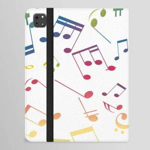 "Society6 Musical Notes 5 Ipad Folio Case by Kamelia_12 - iPad Pro 11.0"" Folio"