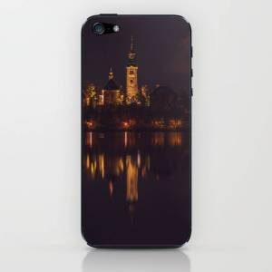 Society6 Bled iPhone & iPod Skin by wallarttown