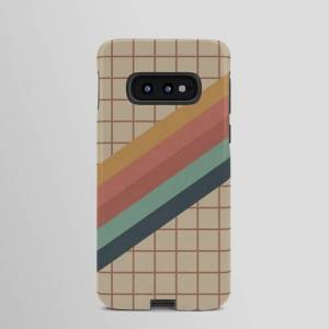 Society6 Samsung Galaxy S10e - Tough Case   Old Video Cassette Palette Android Cases by Alisa Galitsyna
