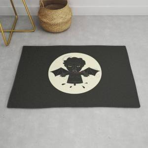 Society6 Akin Na Ang Baby Mo (philippine Mythological Creatures Series) Modern Throw Rug by Lalaine Lim - 2' x 3'