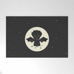 "Society6 Akin Na Ang Baby Mo (philippine Mythological Creatures Series) Outdoor Welcome Mat by Lalaine Lim - 30"" x 20"""