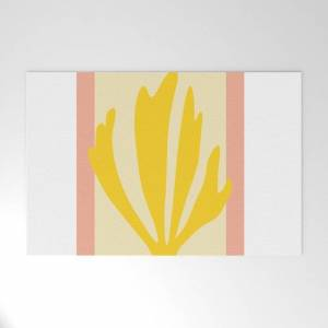 """Society6 Matisse Cutouts Abstract Drawing,matisse Poster,matisse Print, Female Abstract Art, Eclectic Art, Mo Outdoor Welcome Mat by Ankush - 30"""" x 20"""""""