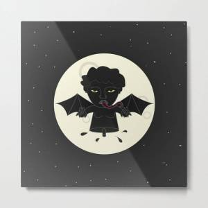 Society6 Akin Na Ang Baby Mo (philippine Mythological Creatures Series) Metal Art Print by Lalaine Lim - LARGE