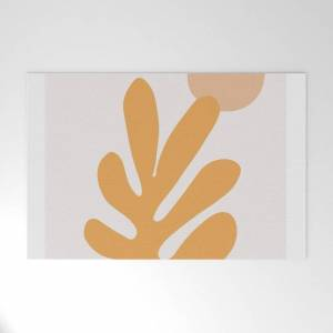 "Society6 Matisse Cutouts Abstract Drawing,matisse Poster,matisse Print, Female Abstract Art, Eclectic Art, Mo Outdoor Welcome Mat by Ankush - 30"" x 20"""