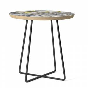 Society6 NYC Chinatown-Series 1 Side Table by ksandrasampson