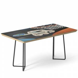Society6 Space Games Coffee Table by adamzworld