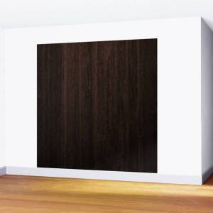 Society6 Very Dark Coffee Table Wood Texture Wall Mural by Created Prototype - 8' X 8'