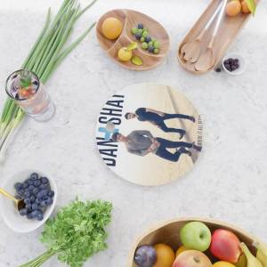 Society6 Dan + Shay Where It All Began Tour Dates 2020 Baukencur Kitchen Cutting Board by Jka979 - Round