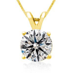 Hansa 2 Carat 14k Yellow Gold Diamond Pendant Necklace, 4 stars, G/H Color, 18 Inch Chain by SuperJeweler