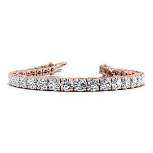 SuperJeweler 14 1/2 Carat Diamond Tennis Bracelet in 14K Rose Gold, 9 Inches,  by SuperJeweler