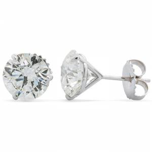 SuperJeweler 5.19 Carat Diamond Martini-Set Diamond Stud Earrings,  by SuperJeweler