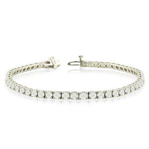 SuperJeweler 8 2/3 Carat Diamond Tennis Bracelet in 14K White Gold (12 g), 7.5 Inches,  by SuperJeweler