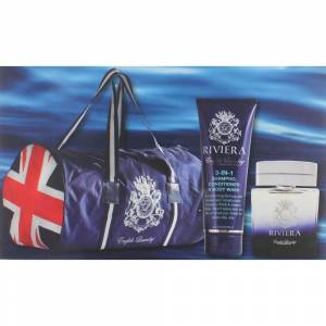 English Laundry Riviera by English Laundry, 3 Piece Gift Set for Men with Bag