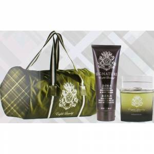 English Laundry Signature by English Laundry, 3 Piece Gift Set for Men with Bag