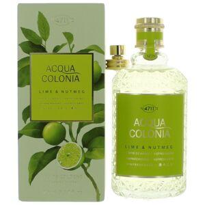 4711 Acqua Colonia Lime & Nutmeg by 4711 5.7oz Eau de Cologne Splash/Spray for Unisex