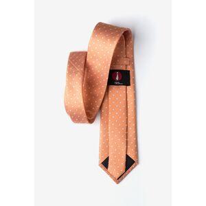 "Ties.com ""Richards Tie by Ties.com -  Orange Silk"""