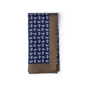 "Ties.com ""Neil Pocket Square by Ties.com -  Navy Blue Polyester"""