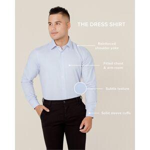 "Alynn ""Oliver Herringbone Slim Fit Dress Shirt by Alynn -  White Cotton"""