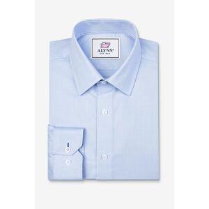 "Alynn ""Elijah Slim Fit Dress Shirt by Alynn -  Light blue Cotton"""