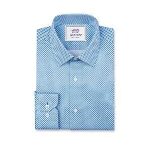 """Alynn """"Porter Slim Fit Dress Shirt by Alynn -  Blue Cotton"""""""