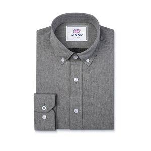 """Alynn """"Caden Slim Fit Casual Shirt by Alynn -  Black Cotton"""""""