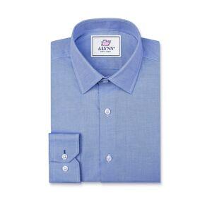 """Alynn """"Elijah Slim Fit Dress Shirt by Alynn -  Medium Blue Cotton"""""""