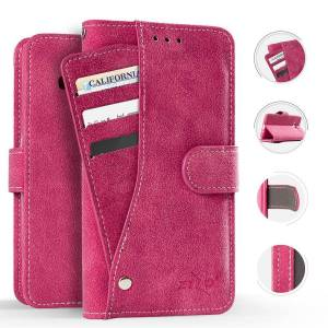 ZV Slide Out Wallet Pouch Samsung Galaxy Amp Prime 3 / Galaxy J3 2018 Case