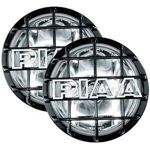 PIAA 520 Xtreme White Plus SMR Black Driving Lamp Kit
