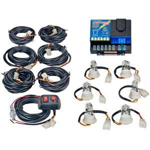 Wolo Lightning Plus 120-Watt Power Supply 6 Bulb Strobe Kit