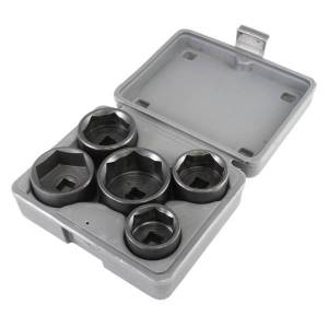 Lisle 5 Piece Low Profile Filter Socket Set