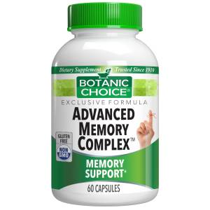 Botanic Choice Advanced Memory Complex™ - Memory Support Supplement - 60 Capsules