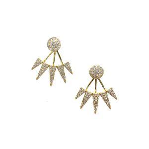 BuddyLove Clothing Label BuddyLove Nikki Stud Earrings - Gold - Gold