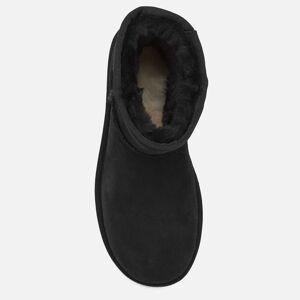 UGG Women's Classic Mini II Sheepskin Boots - Black - UK 3