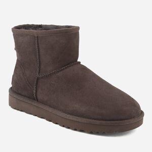 UGG Women's Classic Mini II Sheepskin Boots - Chocolate - UK 3