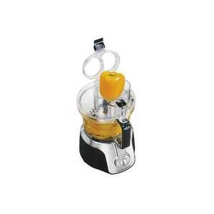 Hamilton Beach 14-Cup Big Mouth® Deluxe Food Processor with 3 Speeds, French Fry Disc, Black & Stainless (70575)