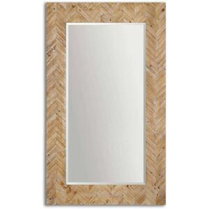 FranceSon Demetria Oversized Wooden Mirror